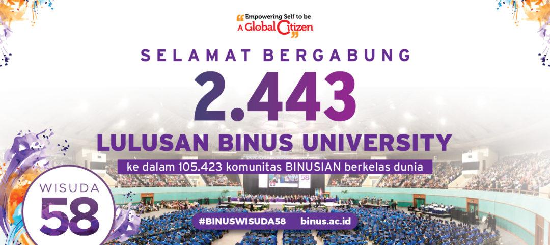Pelantikan Rektor Universitas Bina Nusantara 2018-2023