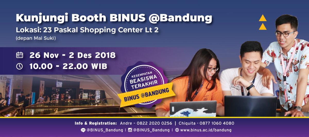 BINUS @Bandung di Paskal 23 Mall