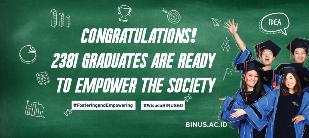 BINUS Business School AACSB Accredited !