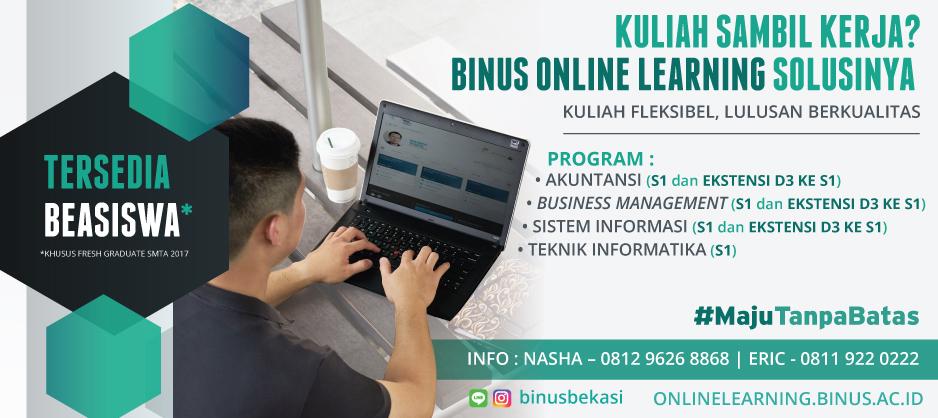 OPEN CONSULTATION BINUS ONLINE LEARNING BEKASI