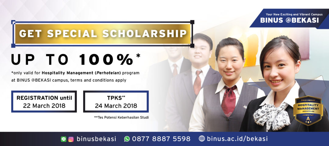 Topping Off BINUS @Bekasi