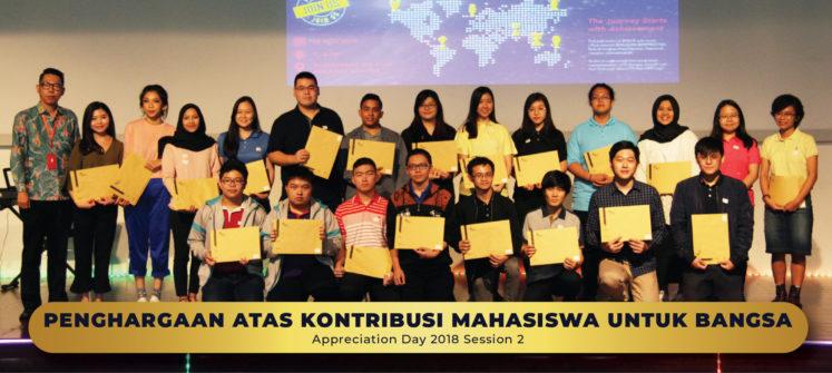 Penghargaan Atas Kontribusi Mahasiswa Untuk Bangsa