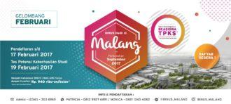 BINUS ONLINE LEARNING @MALANG  GELOMBANG FEBRUARI 2017