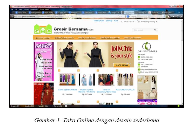 STUDI KASUS ONLINE SHOP DI INDONESIA