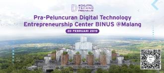 Launching Digital Technopreneurship Campus BINUS @Malang