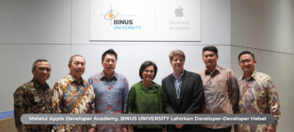 MELALUI APPLE DEVELOPER ACADEMY, BINUS UNIVERSITY LAHIRKAN DEVELOPER – DEVELOPER HEBAT