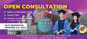 Open Consultation – 10 Juli 2019