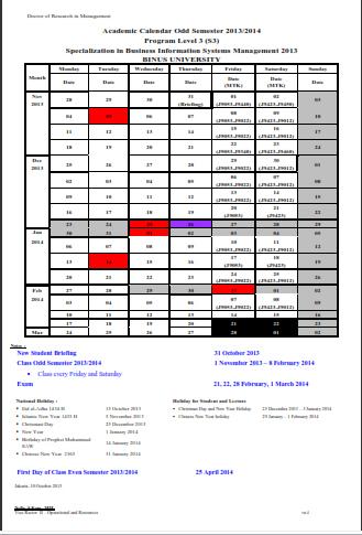 Academic-Calendar-S3-IS