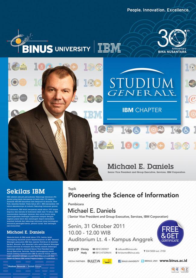STUDIUM GENERALE: IBM Chapter