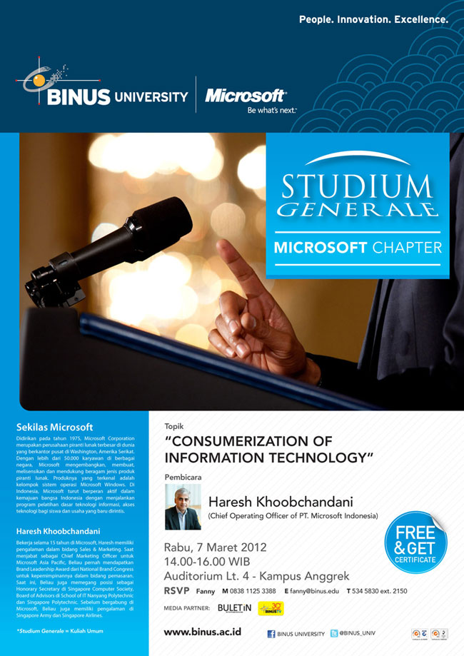 STUDIUM GENERALE: Microsoft Chapter
