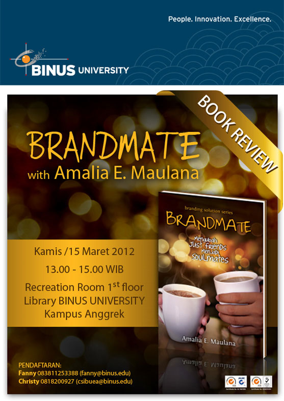 Book Review Brandmate with Amalia