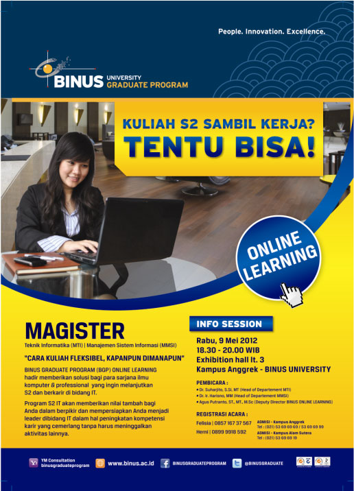 Info Session BINUS Graduate Program Online