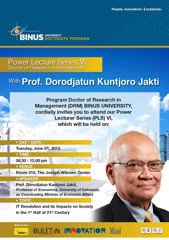 Power Lecture Series IV DRM BINUS