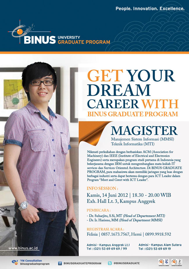 Info Session BINUS Graduate Program