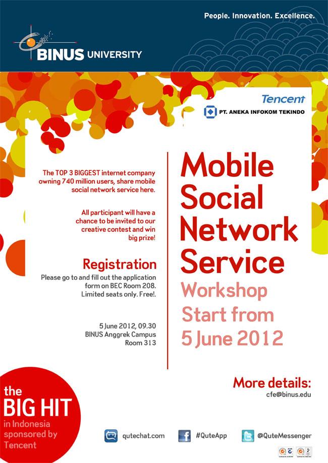 Tencent University Tour – Mobile Social Network Service