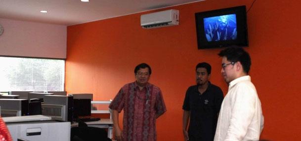 Binus-Resmikan-Animation-Studio Alam Sutera BINA NUSANTARA