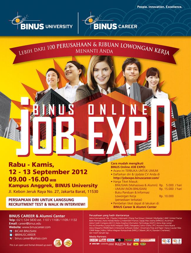 BINUS Online Job Expo