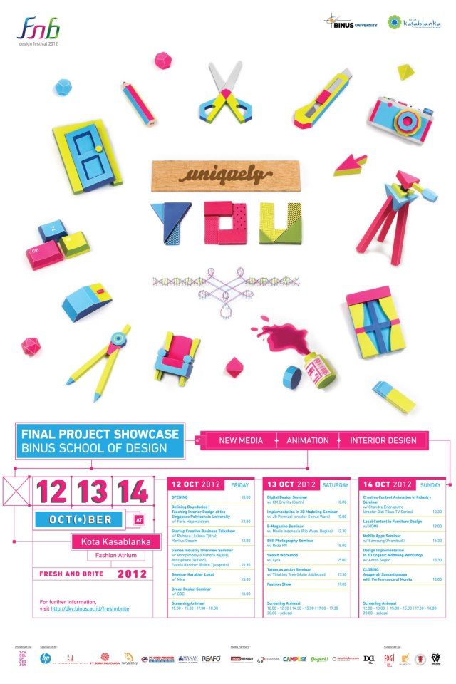 Fresh 'n Brite 2012 BINUS School of Design DKV