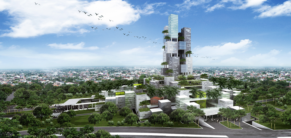 Binus University Ground Breaking Kampus Alam Sutera