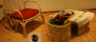 furniture hasil karya Zahra Azida