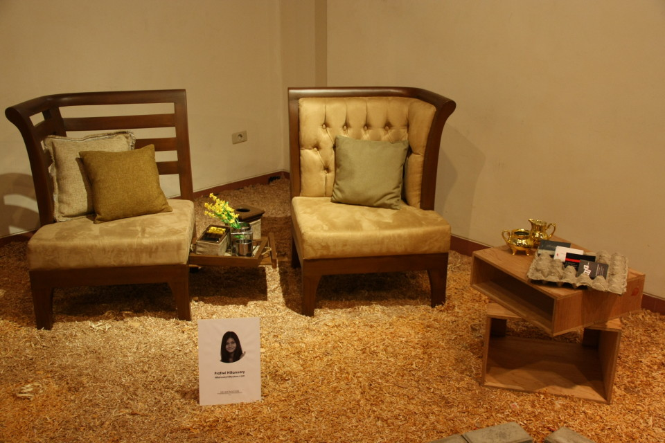 furniture hasil karya Pratiwi Hillanuary