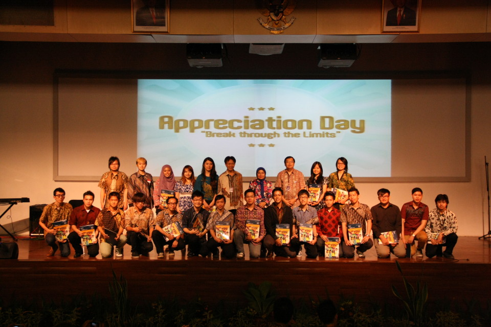 Appreciation Day bagi mahasiswa berprestasi tingkat Interasional BINUS UNIVERSITY