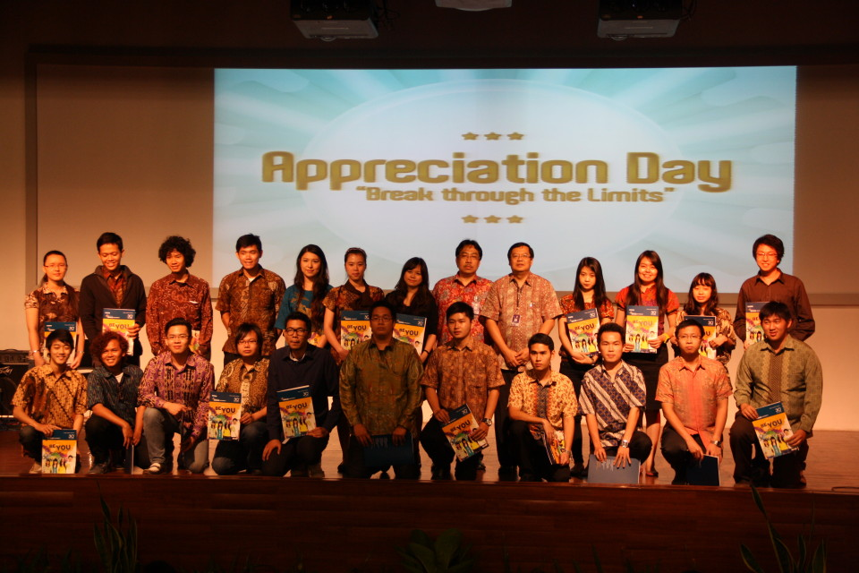Appreciation Day mahasiswa berprestasi tingkat Nasional BINUS UNIVERSITY
