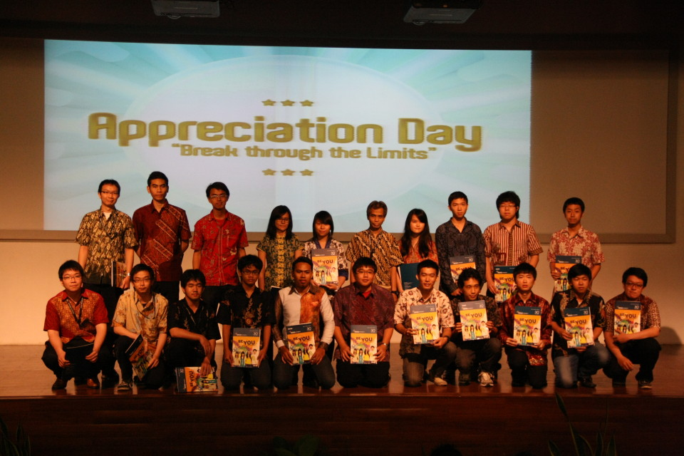 Appreciation Day bagi mahasiswa berprestasi tingkat JaBoDeTaBek BINUS UNIVERSITY