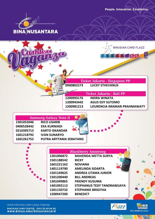 Cashless Program 2013 - Flyer A5 130705