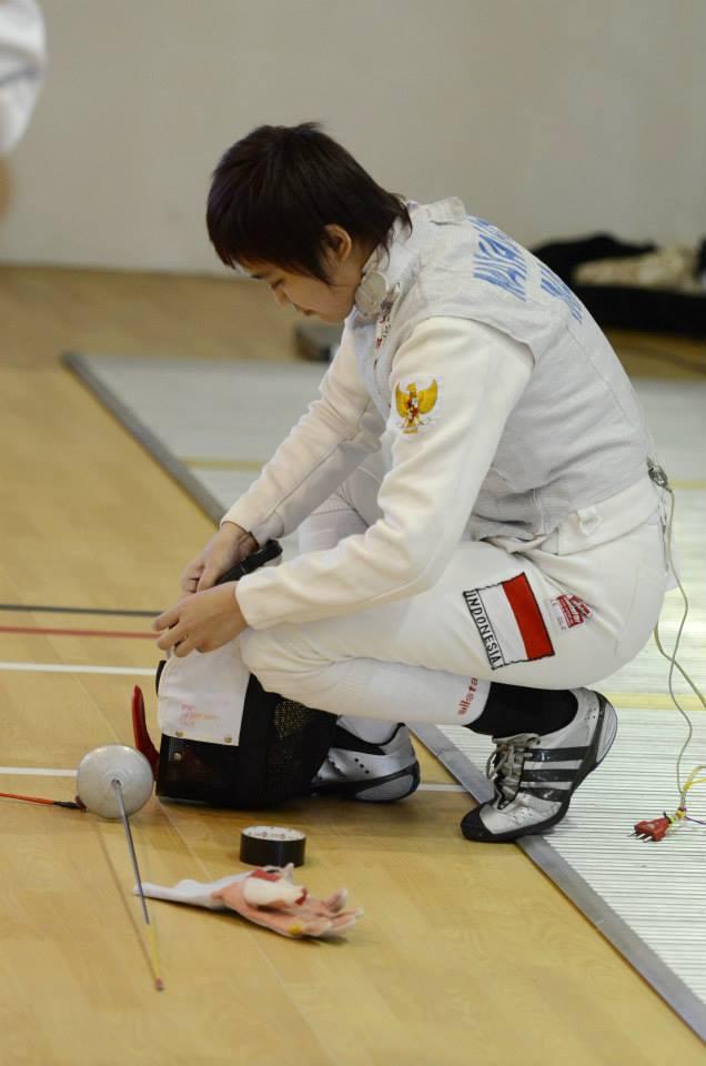 Binus Achievement In Malaysian Fencing Binus University