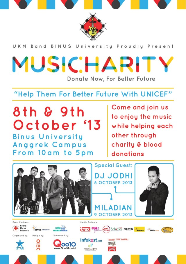 POSTER-Music Charity