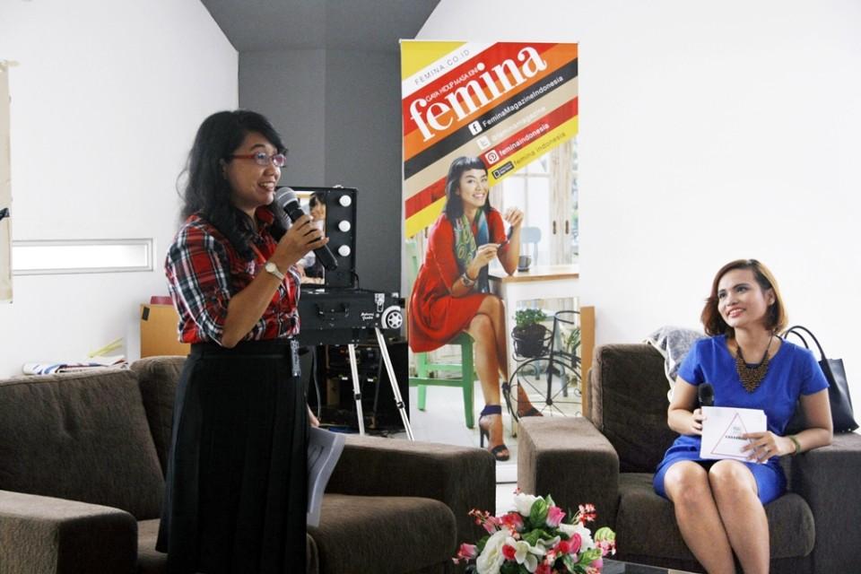 BINUS UNIVERSITY Terpilih sebagai universitas pertama dalam Road to Wajah Femina 2014