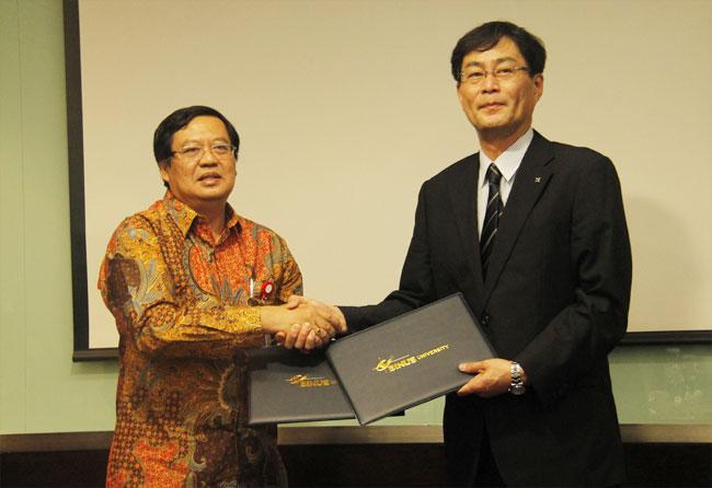 General Agreement Signed Between BINUS UNIVERSITY and Hokuriku University