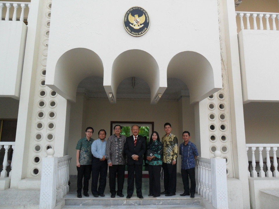 Indonesian Embassy in Qatar and BINUS UNIVERSITY to Collaborate in Education