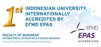 Satu-satunya di Indonesia yang Terakreditasi EFMD EPAS