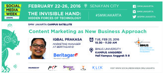SMW Jakarta Campus Satellite: Content Marketing as New Business Approach