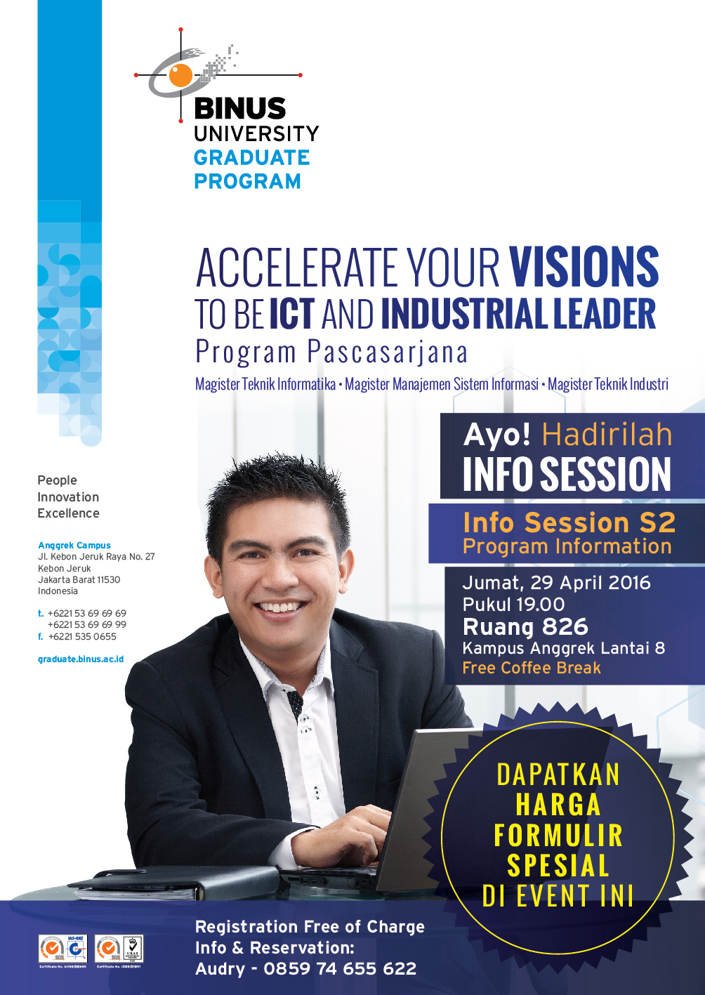 Flyer BGP Info session (turunan iklan Buku Wisuda) 29 April-01