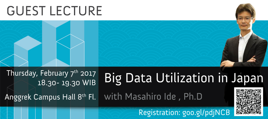 Guest Lecture – Big Data Utilization in Japan