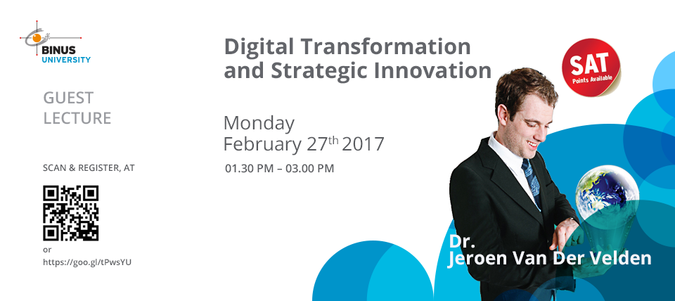 Guest Lecture - Digital Transformation and Strategic Innovation