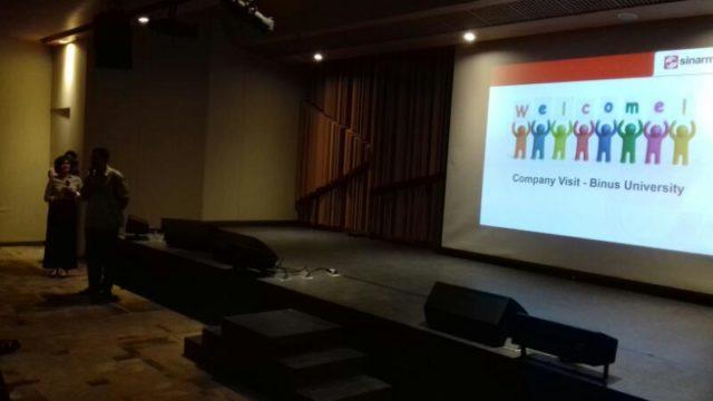 Company Visit Sinarmas Land | BINUS UNIVERSITY