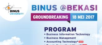 Groundbreaking BINUS Bekasi