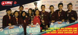 """Kembali Raih """"Best Of The Best Indonesia School  Brand Award"""",  Program Studi Marcomm dan DKV Tutup Tahun 2015 dengan Sempurna"""