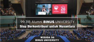 BINUS Berhasil Meluluskan 51 Wisudawan Dengan Predikat Summa Cumlaude