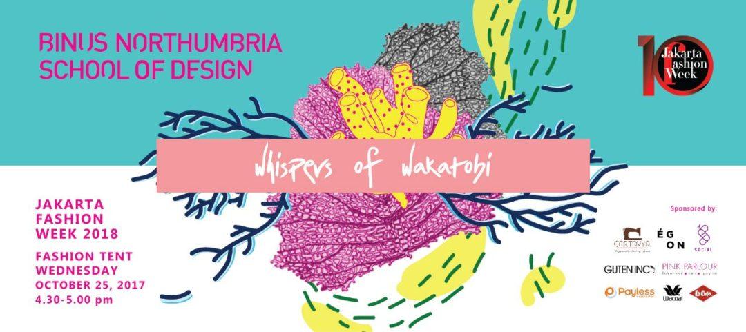 Whispers of Wakatobi at Jakarta Fashion Week 2018