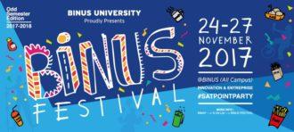BINUS Festival – Internationalization Seminars Odd Semester 2017