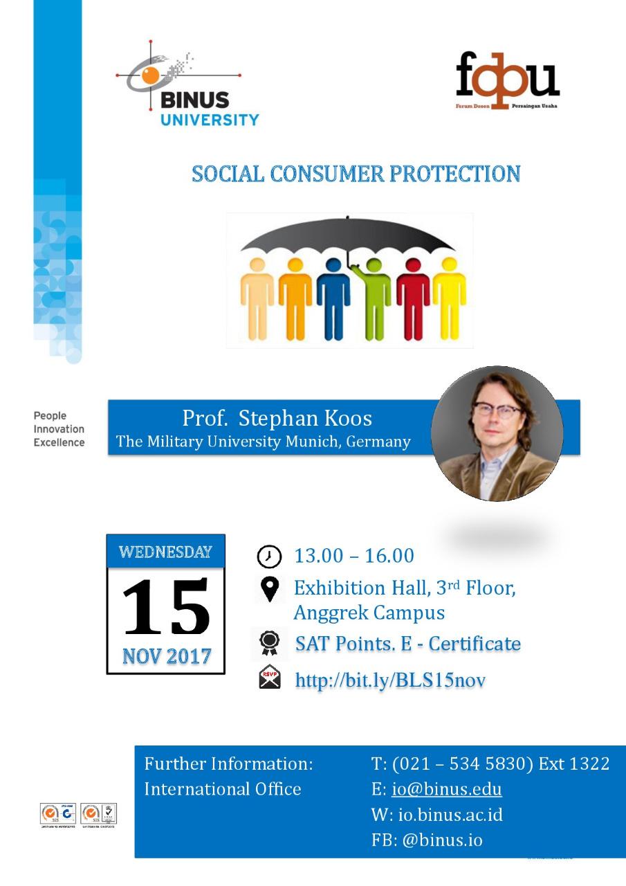 Business Law Seminar bersama FDPU