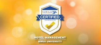Akreditasi A Program Hotel Management BINUS UNIVERSITY