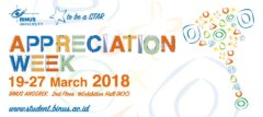Appreciation Week 2018
