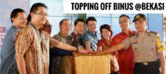 Topping off BINUS UNIVERSITY @Bekasi