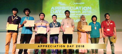 Penghargaan Bagi Mahasiswa Berprestasi BINUS UNIVERSITY